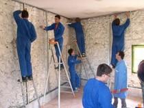 ремонт стен помещений Омск