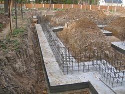 Строительство фундамента под ключ. Омские строители.