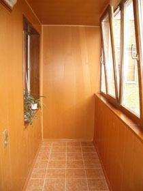 отделка балконов город Омск