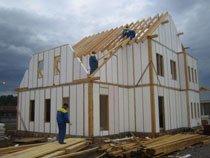 каркасное строительство домов Омск