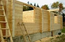 строительство домов из бревен Омск