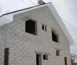 Качественный и недорогой дом из пеноблоков, кирпича, бруса в городе Омск, можно заказать в нашей компании профессиональных строителей СтройСервисНК