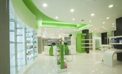 отделка аптек в Омске