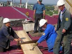 Ремонт крыш в Омске. Строительство и отделка кровли. Кровельные работы в Омске. Отделка