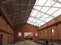 Строительство складов в Омске и пригороде, строительство складов под ключ г.Омск